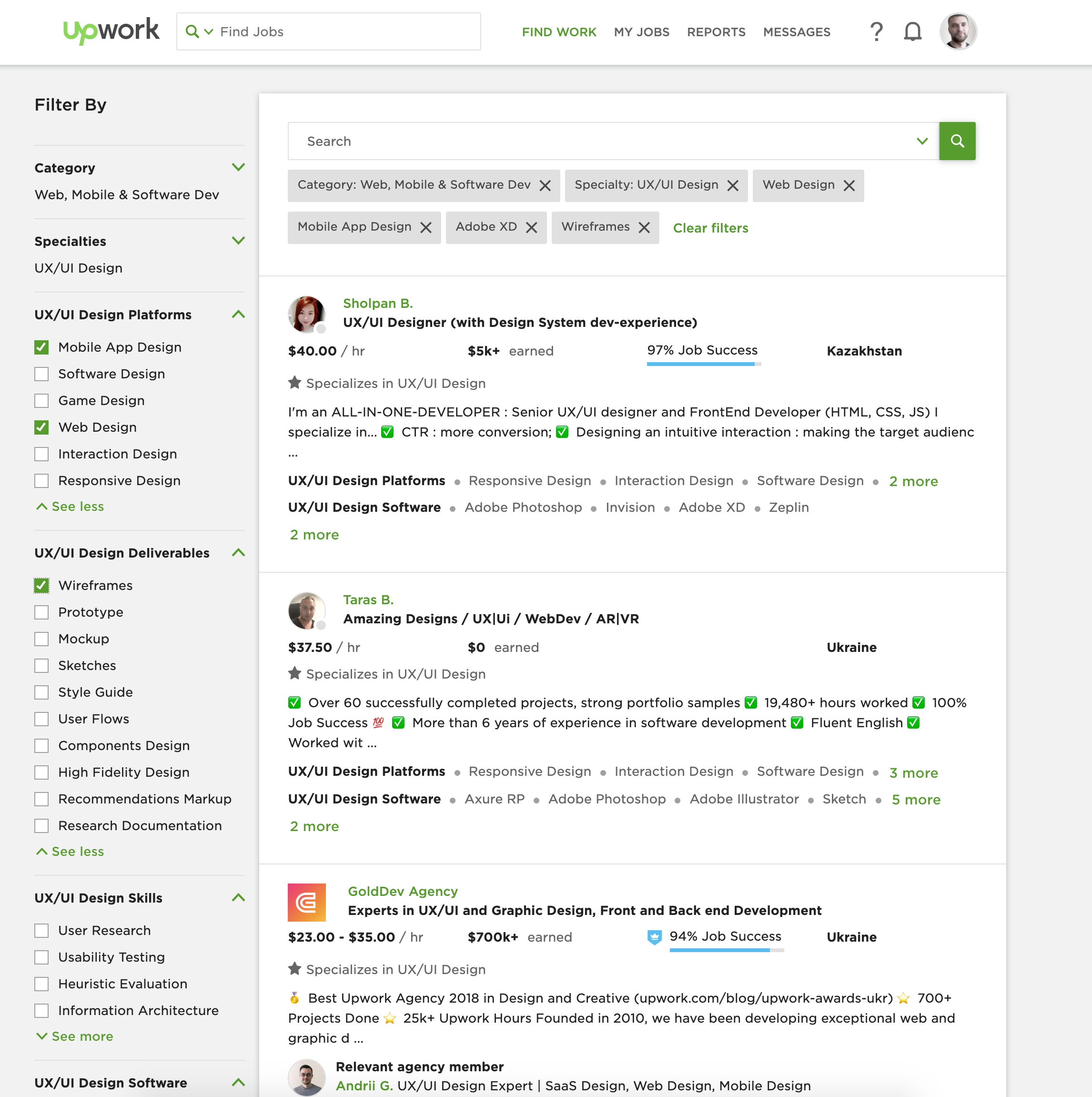 upwork top rated